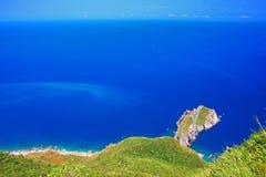 Beautiful Coastline in Yilan, Taiwan Royalty Free Stock Photos