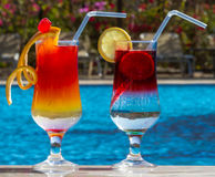 Beautiful cocktails Stock Photography