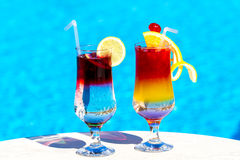 Beautiful cocktails Royalty Free Stock Images