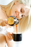 Beautiful coffe Royalty Free Stock Photos