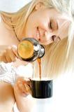 Beautiful coffe Royalty Free Stock Photos