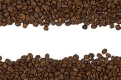Beautiful coffee beans background Stock Image