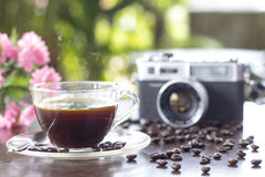 Beautiful coffee still life Royalty Free Stock Image