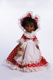 Beautiful collectible doll Royalty Free Stock Image