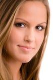 Beautiful college girl Royalty Free Stock Photos