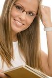 beautiful college girl Στοκ Εικόνες