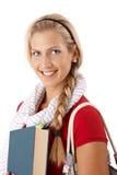 Beautiful college girl Stock Image