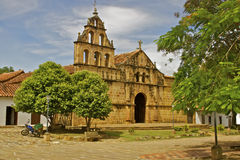 Colonial church, Guane, Colombia Royalty Free Stock Images