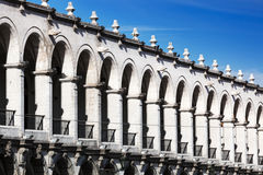 Beautiful colonnade Stock Photo