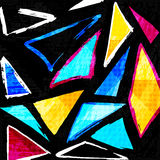 Beautiful color abstract pattern vector illustration of graffiti. (vector eps 10 Stock Image