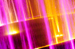 Beautiful color light fountain Stock Image