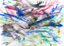 Beautiful color painting arts backgrounds Royalty Free Stock Photo