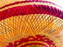 Beautiful Color Paper Lamp in Vegetarian Festival. Royalty Free Stock Photography