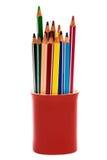 Beautiful color pencils Stock Photo