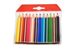 Beautiful color pencils Stock Image