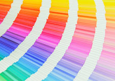 Beautiful color swatches book stock photos