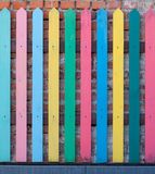 Beautiful colore fence Royalty Free Stock Photography