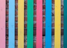 Beautiful colore fence Stock Photos