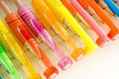 Beautiful colored pens Stock Photos