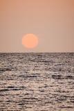 Beautiful Colored Sunset Stock Photo