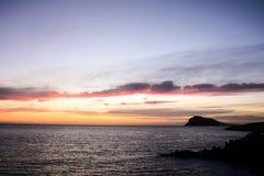 Beautiful Colored Sunset Stock Photos