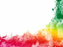 Colorful Abstract Artistic Watercolor. Beautiful Colorful Abstract Artistic Watercolor stock illustration
