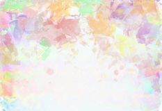 Abstract background. Beautiful colorful abstract background in light colors Royalty Free Stock Images