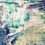 Beautiful colorful abstract painting Stock Images