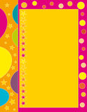Beautiful colorful background. With border Stock Photos