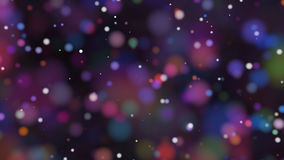 Beautiful colorful bokeh blurred background defocused lights Stock Photos