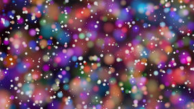 Beautiful colorful bokeh blurred background defocused lights Royalty Free Stock Photos