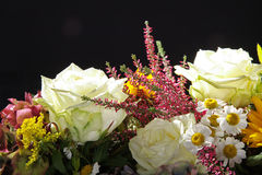 Beautiful colorful bouquet with Stock Images