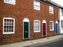 Beautiful colorful brick house in Great Britan London Stock Photography