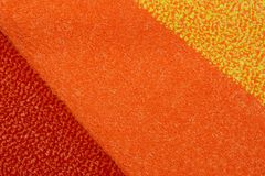 Colorful carpet texture stock photo