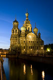 Cathedral of Christ the Saviour in St Petersburg, Russia Royalty Free Stock Image
