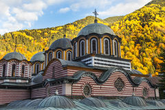 Beautiful colorful church in autumn Royalty Free Stock Image