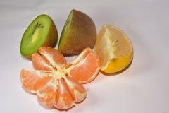 Beautiful colorful citrus close up stock images