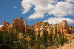 Beautiful colorful cliffs in southwestern america Royalty Free Stock Photography