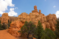Beautiful colorful cliffs in southwestern america Stock Image