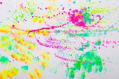 Beautiful colorful creative abstract art stock image