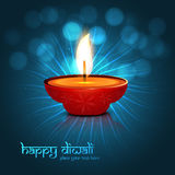 Beautiful  colorful diwali background Royalty Free Stock Images