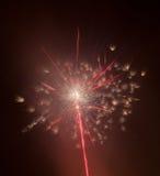 Beautiful colorful firework Stock Photography