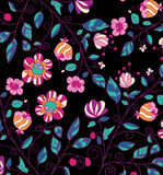 Beautiful colorful floral background with flowers Royalty Free Stock Images
