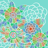 Beautiful colorful Flowers set. Vector Illustration. Beautiful Flowers set. Vector Illustration Stock Images
