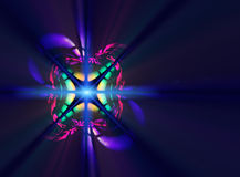 Beautiful colorful fractal background Stock Photos