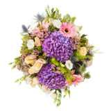 Beautiful colorful fresh flowers bouquet Royalty Free Stock Photography