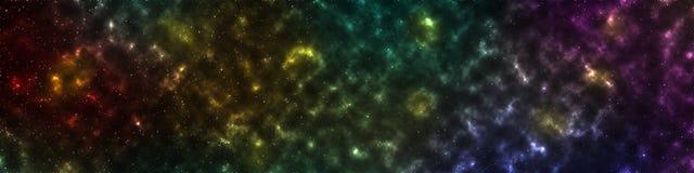 Beautiful colorful galaxy background Stock Photography