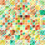 Beautiful colorful grid Stock Photo