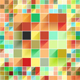 Beautiful colorful grid Stock Image