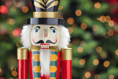 Beautiful and colorful holiday nutcracker ornament decoration Royalty Free Stock Photos